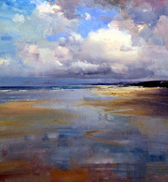 Ken Knight Landscape Art Seascape Paintings Abstract Landscape