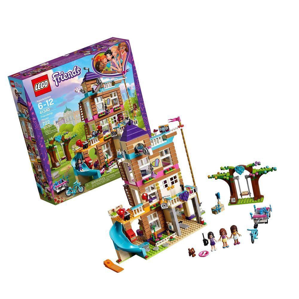 Lego Friends Friendship House 41340 Kids Building Set With Mini