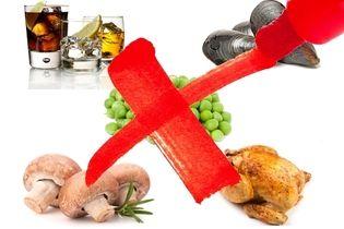 Alimentos Permitidos E Proibidos Para Quem Tem Gota Alimentos