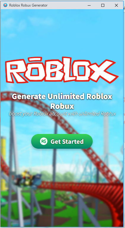Generate Unlimited Roblox Robux The Generator Is Easy To Use