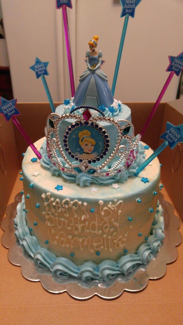 Cinderella Birthday Cake Giannas Cinderella Pinterest