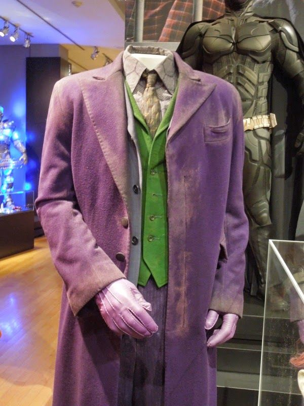 Original costume worn by Heath Ledger as The Joker in 2008u0027s The Dark Knight & Original costume worn by Heath Ledger as The Joker in 2008u0027s The ...