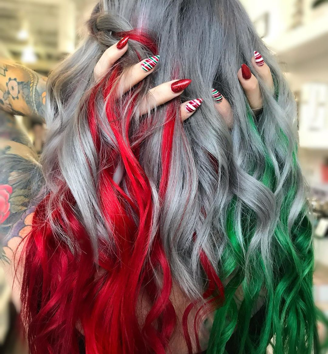 2 915 Likes 47 Comments Hair Huntington Beach Ca Msnataliejean On Instagram Sleigh This B Tch In 2020 Creative Hair Color Hair Inspiration Color Hair Styles