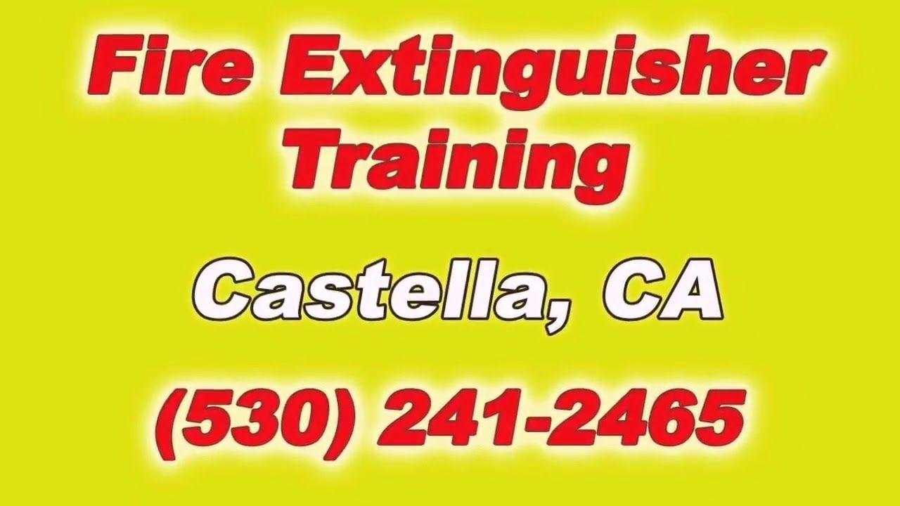 Fire Extinguisher Training for Local Castella California