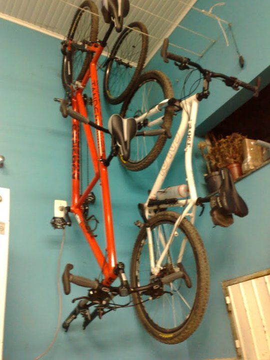 Hanging On The Wall Beside My 29er Lack Of Willing