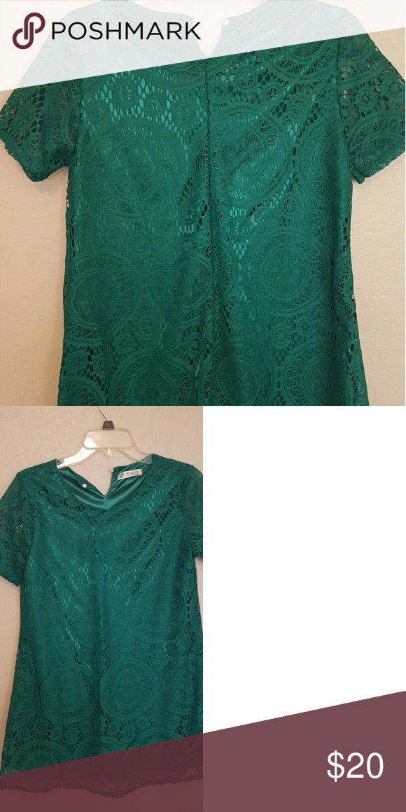 db68147d715 Emerald Green Tunic/Dress Beautiful Emerald green tunic or dress,which ever  you prefer. Brand new without tags. Too small for me thats why I selling.