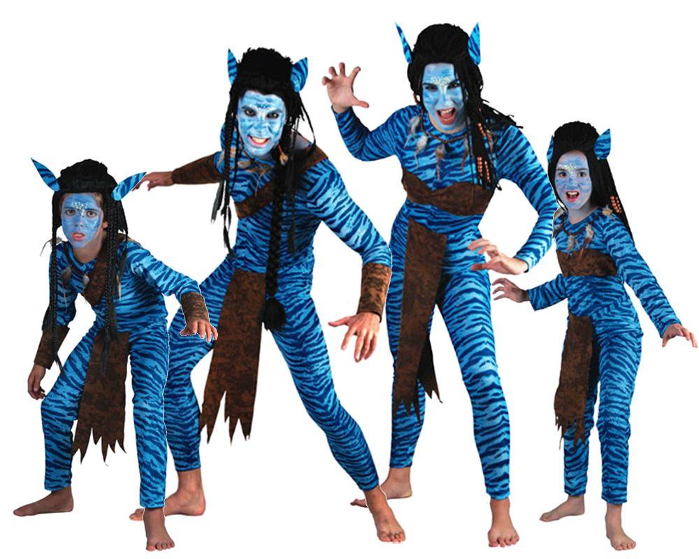 Familia de avatares disfraces carnaval - Disfraces en familia ...