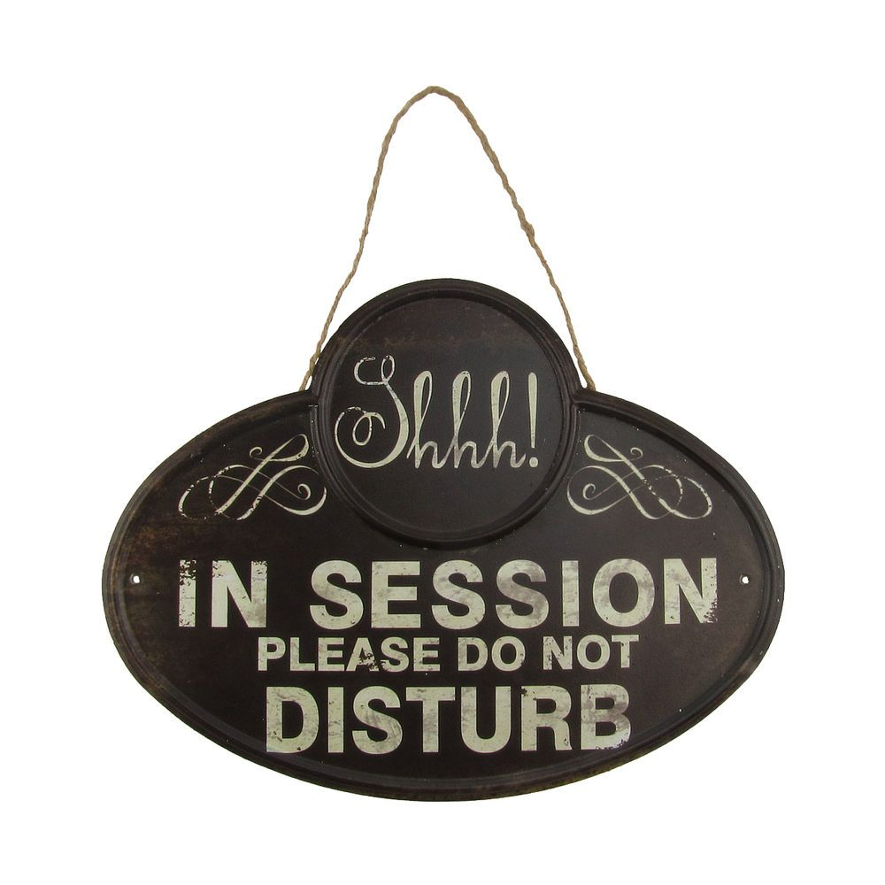 Sh Quiet In Session Please Do Not Disturb Sign Business Meeting Door Wall Decor Unbranded Vintager Therapist Office Decor Business Signs Therapy Office Decor Meeting in session door sign