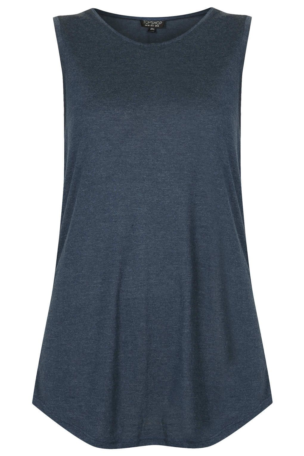 Viscose Tank - Tops - Clothing - Topshop