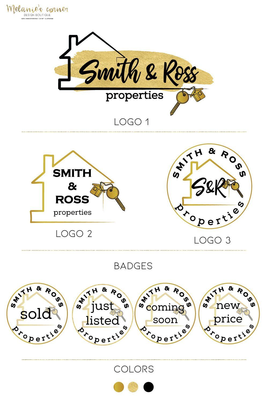 Real Estate Logo Design, Key Logo, House logo, Realtor
