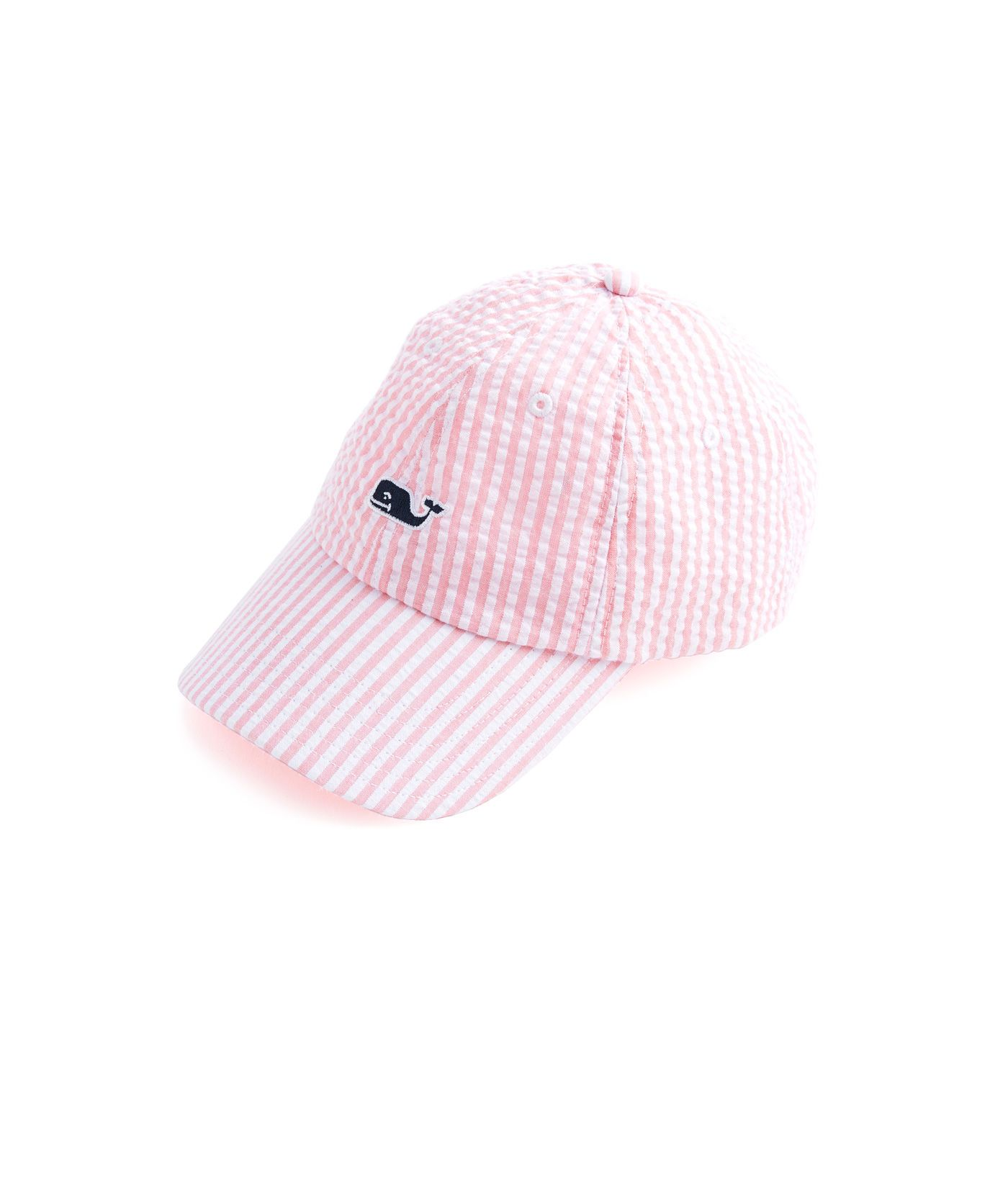 c68220609 Shop Girls Seersucker Baseball Hat at vineyard vines | Baby girl ...