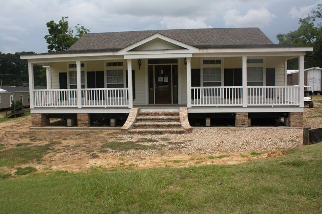 Mccants mobiles homes model ez 803 39 the willow pictures for Single wide mobile homes with front porches