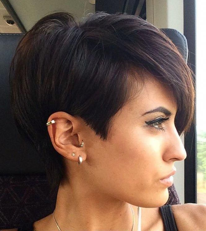 38 Short Pixie Haircuts for Thick Hair - Get Your Inspiration for 2020 - Short Pixie Cuts -   12 hairstyles For Work hot haircuts ideas