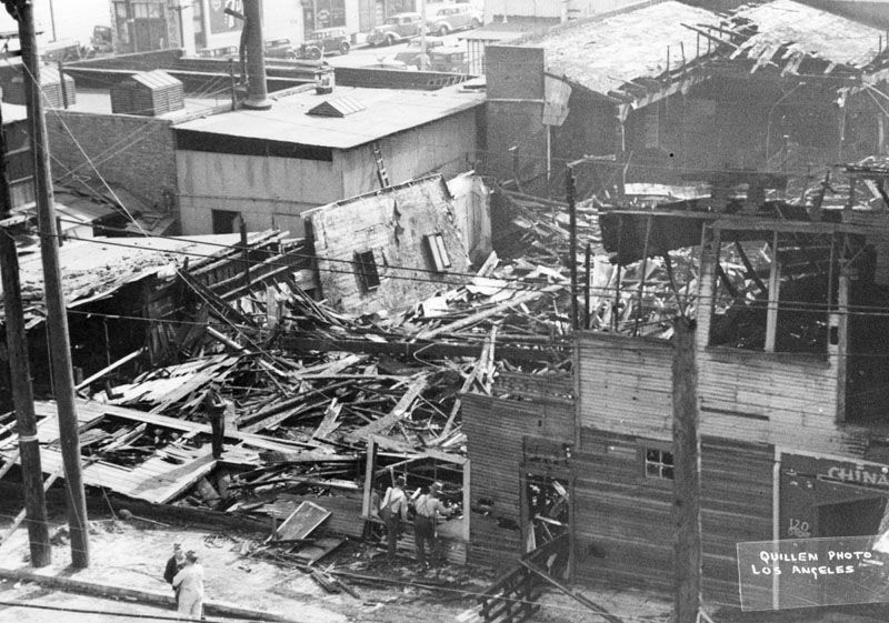 China City After The Fire In Feb 1939 Photo Friends Lapl Blog Visions Of Romance Christine Sterlings Quest For Ch China City Native American Nations Photo