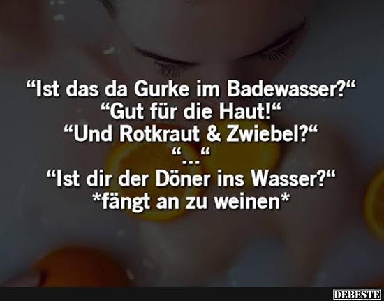 Photo of Ist das Gurke im Badewasser?