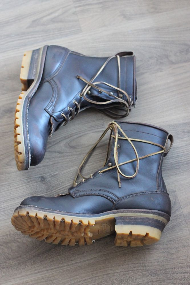 Details About White S Boots Custom 8 Quot Brown Smokejumper Sz
