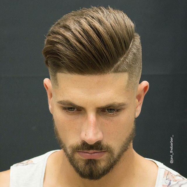 how to cut boys hair pompadour
