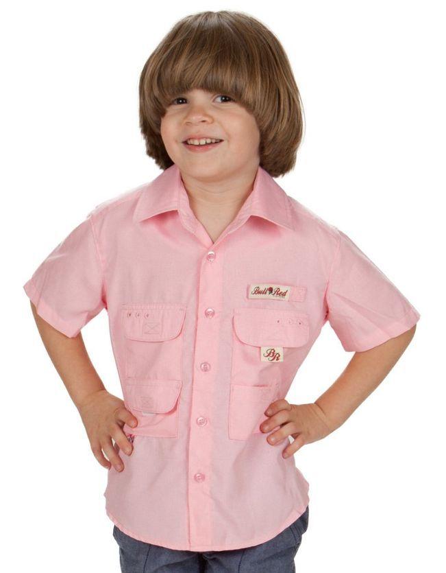 9f78d38bfd2 Bull Red Fishing Shirt - Pink | Products | Fishing shirts, Shirts ...