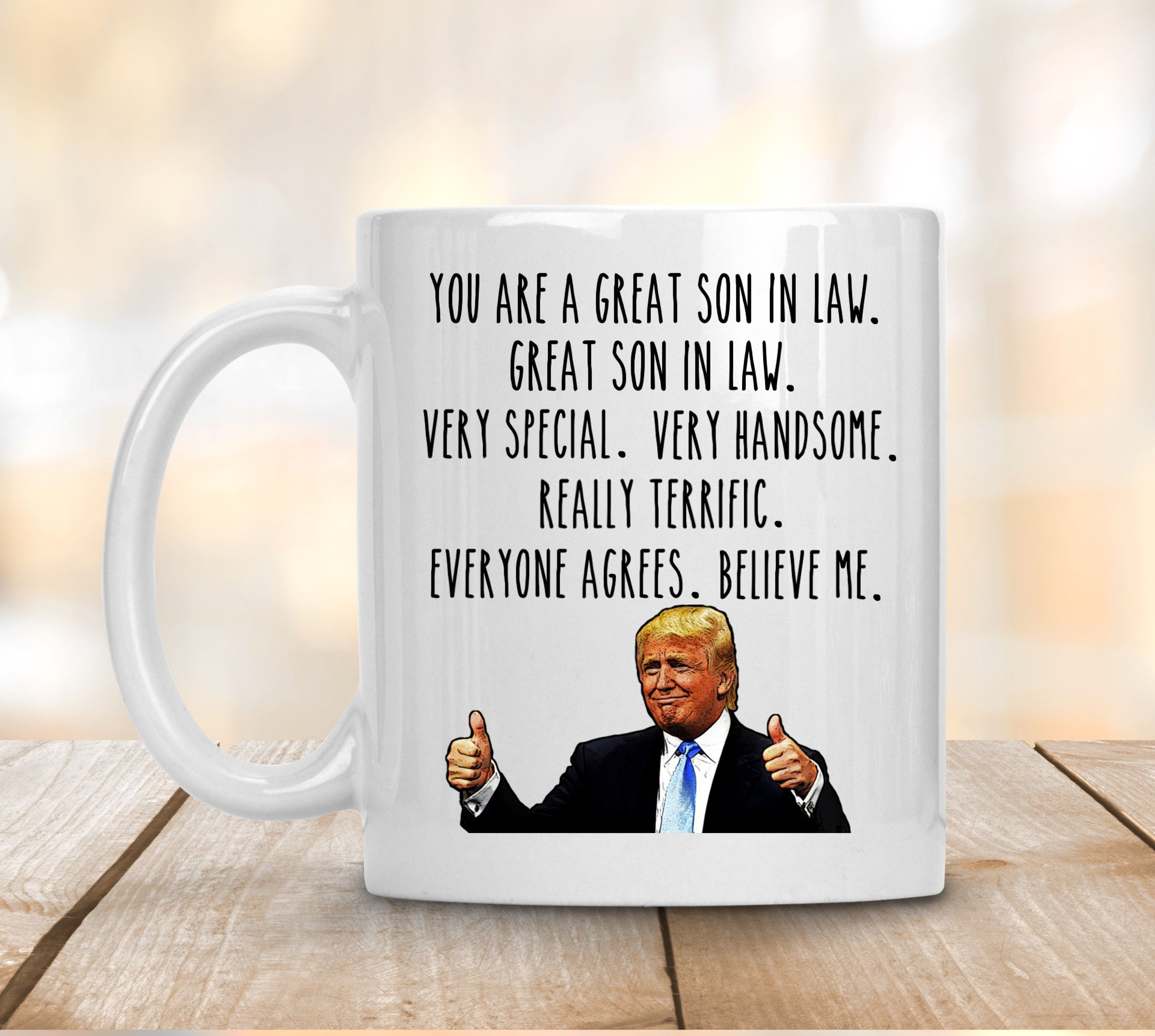 You Are A Great Son In Law Coffee Mug,SonInLaw Gift