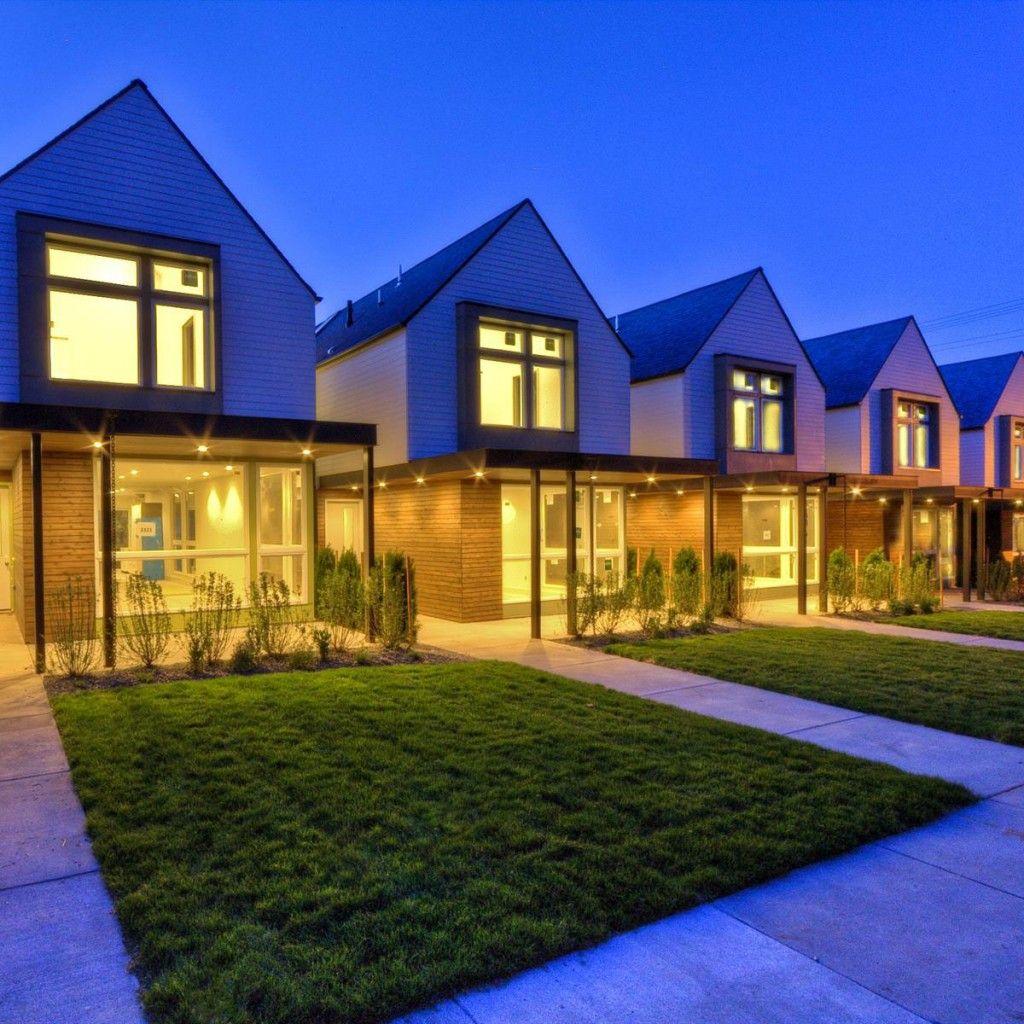 Portland Oregon Rental Property Village House Design Minecraft House Designs Modern Townhouse