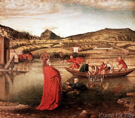 Konrad Witz - Der wunderbare Fischzug
