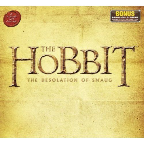 2014 The Hobbit The Desolation of Smaug Wall Cale ($13.49)