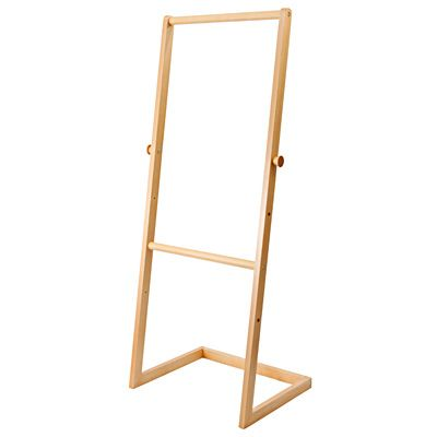 ブナ材こどもハンガーラック 幅58.5×奥行47×高さ150cm