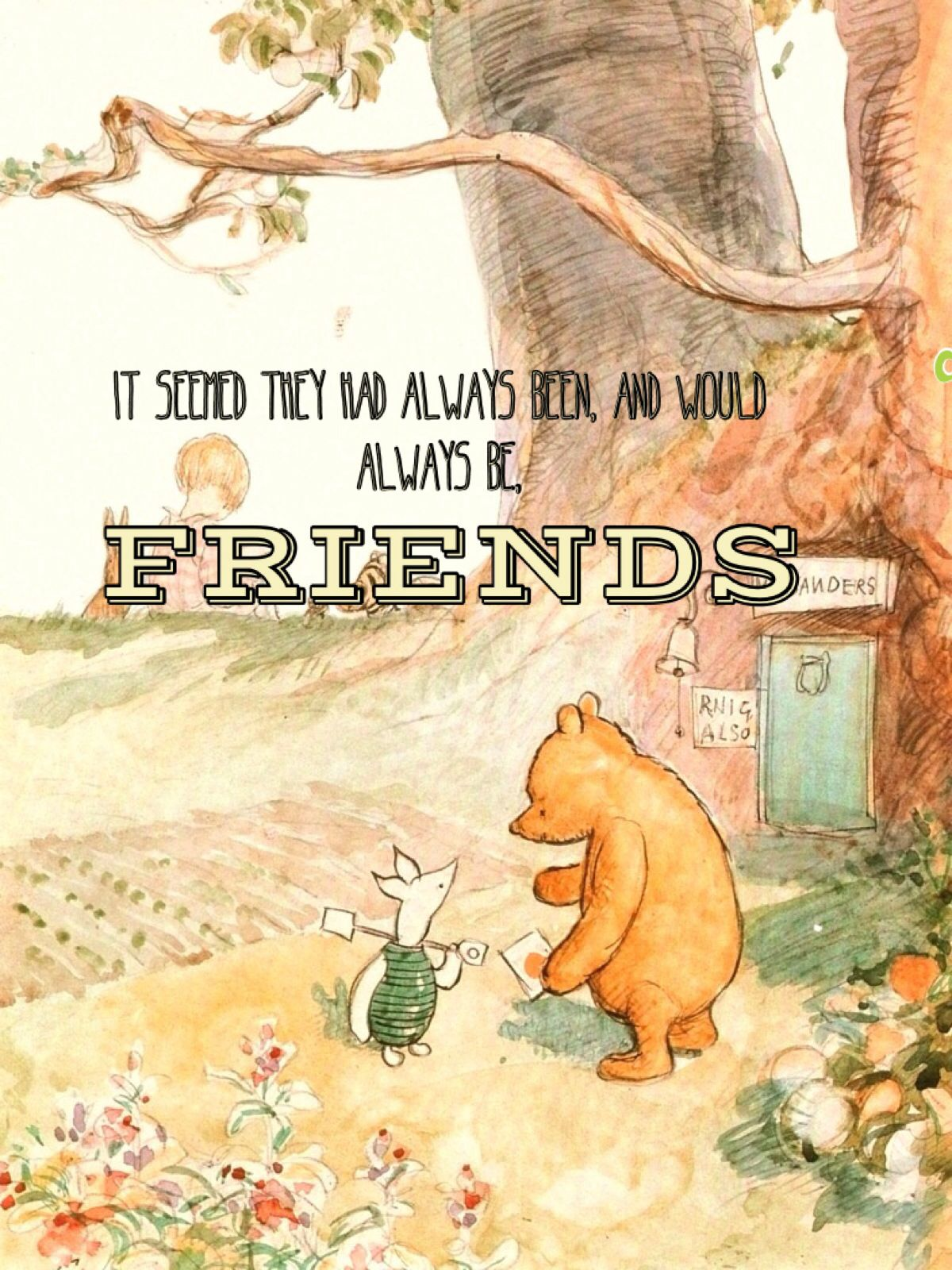 Quotes From Winnie The Pooh About Friendship Winnie The Pooh & Piglet 3  Ideas Worth Thinking About