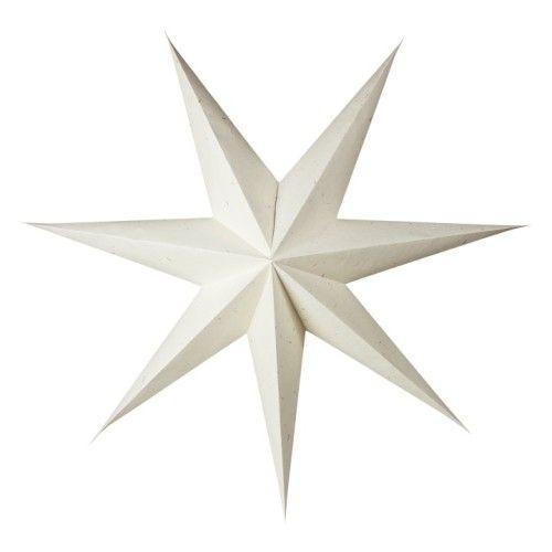 Stjärna Natur/Slubb 90cm 7-udd