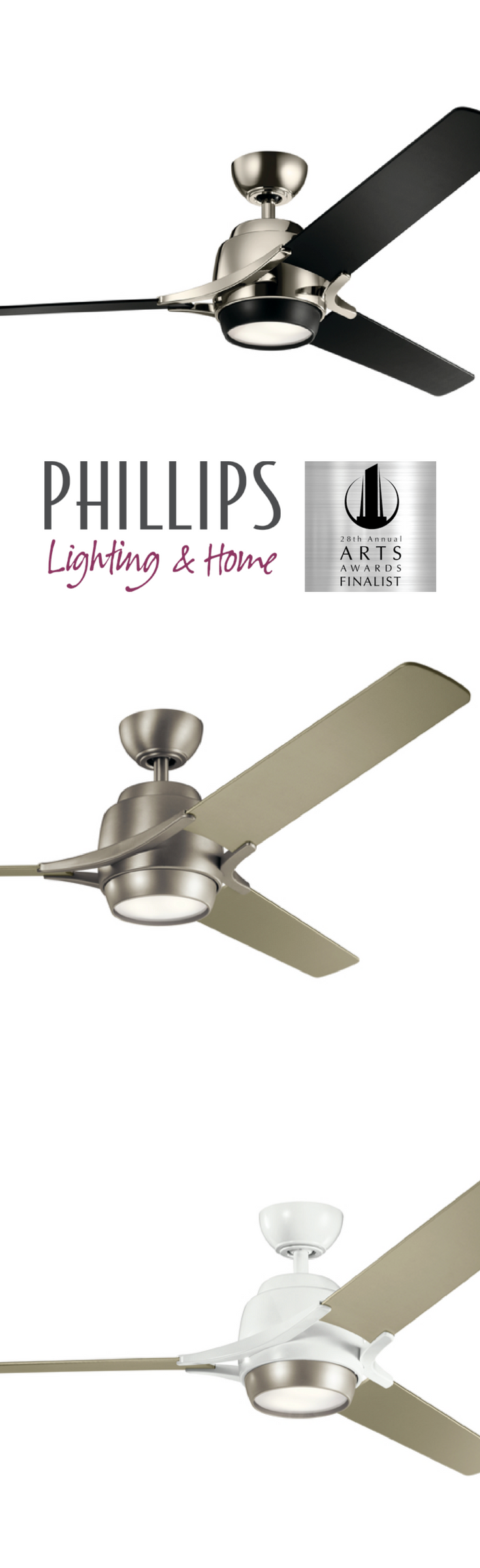 Home 4 Phillips lighting, Ceiling fan, Heating and air