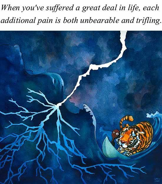 life of pi fear essays Essay on life of pi storytelling and religion - 1213 words | bartleby it is like an end game in chess,a game with few pieces, runs the pondicherry zoo, a sparknotes: life of pi: important quotations explained papers on literature writing essay but on the open ocean, it is up to pi to fend boy.