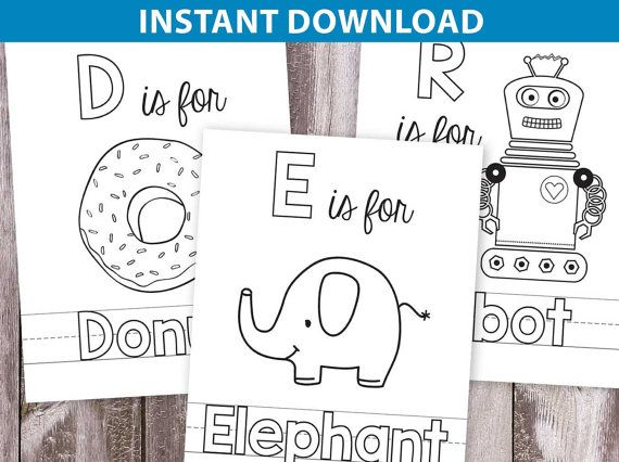 Abc Coloring Book For Kid S Activity Pdf Download 5x7 Abc Coloring Abc Coloring Pages Alphabet Coloring Pages