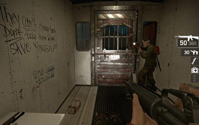 Zombie safe room 2