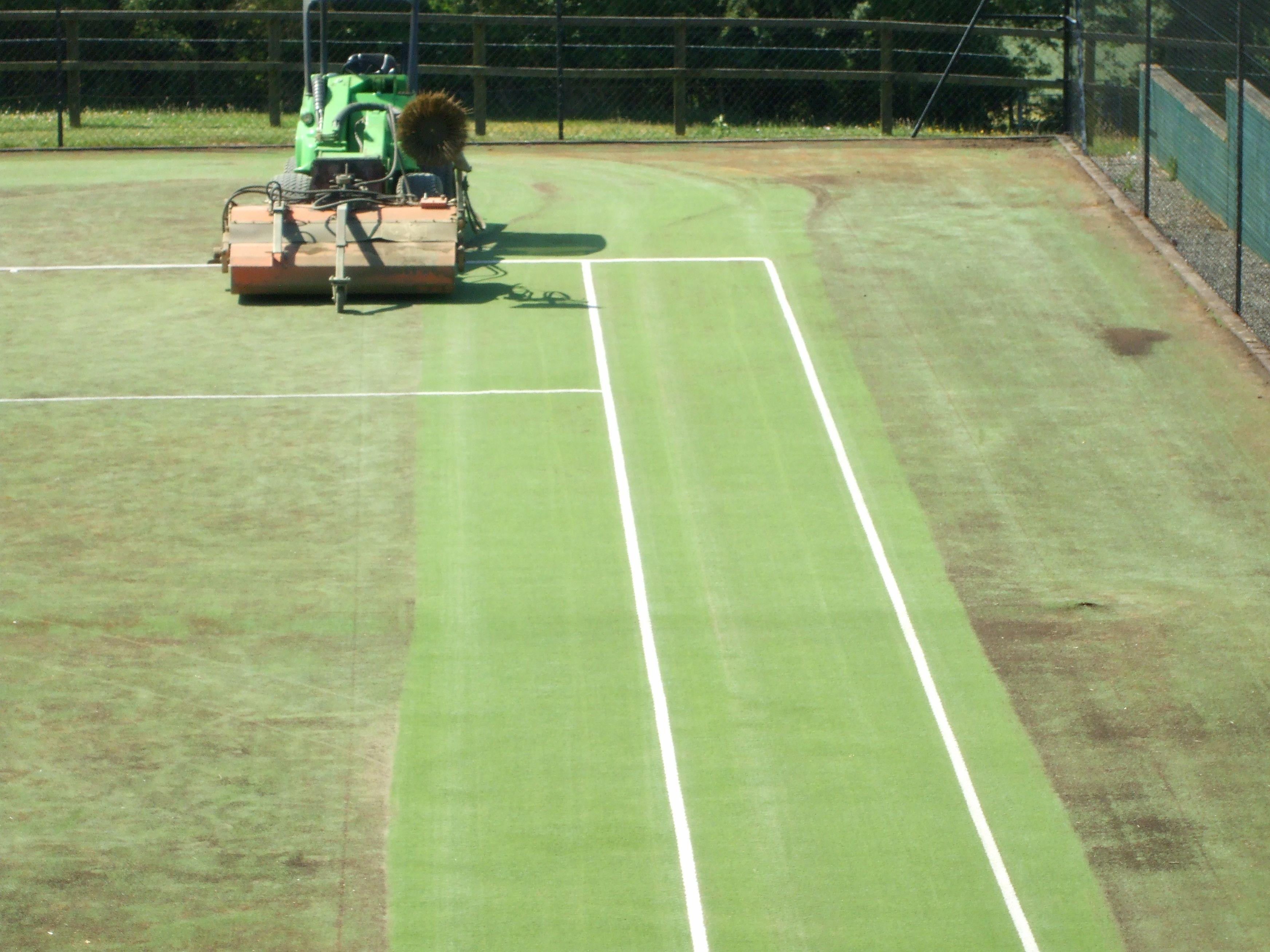 Tenniscourtmaintenance Synthetic Tennis Court Surfaces Pinterest