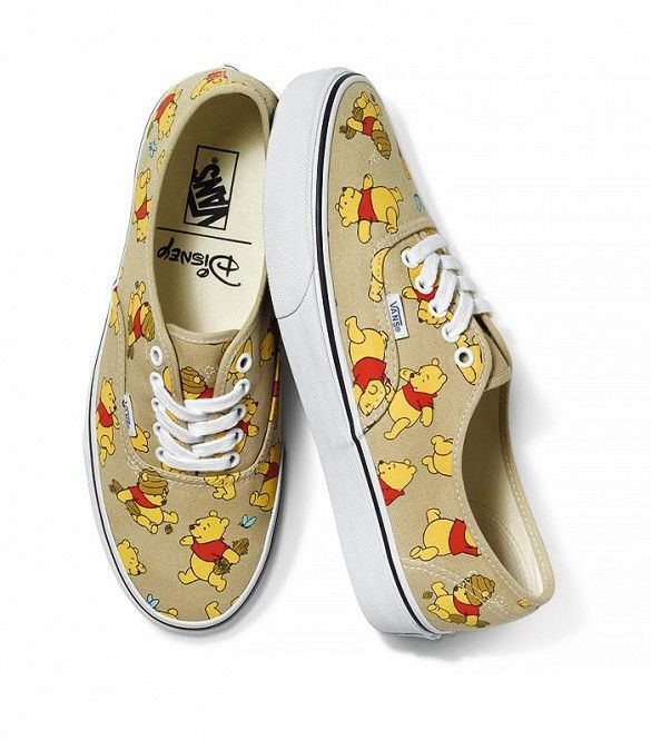 381592e928ba94 Vans x Disney Authentic Winnie the Pooh Sneakers!!!! Oh my gosh I need  these. They would be better (and more loved) than any heel I could ever own