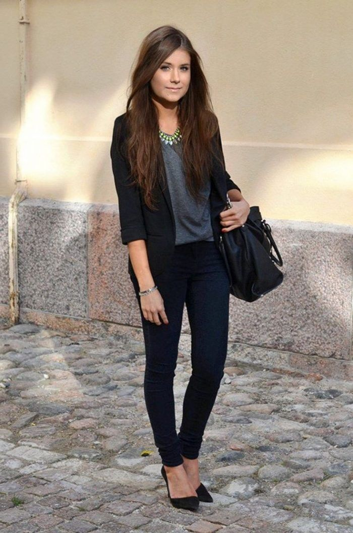 46 Fashionable Job Interview Outfits For Women That Makes -9198