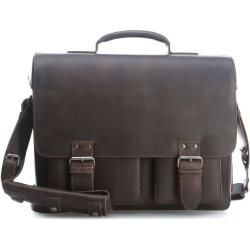 Photo of Aunts & Uncles Hunter Finn Briefcase 14 ″ dark brown aunts & unclesaunts & uncles