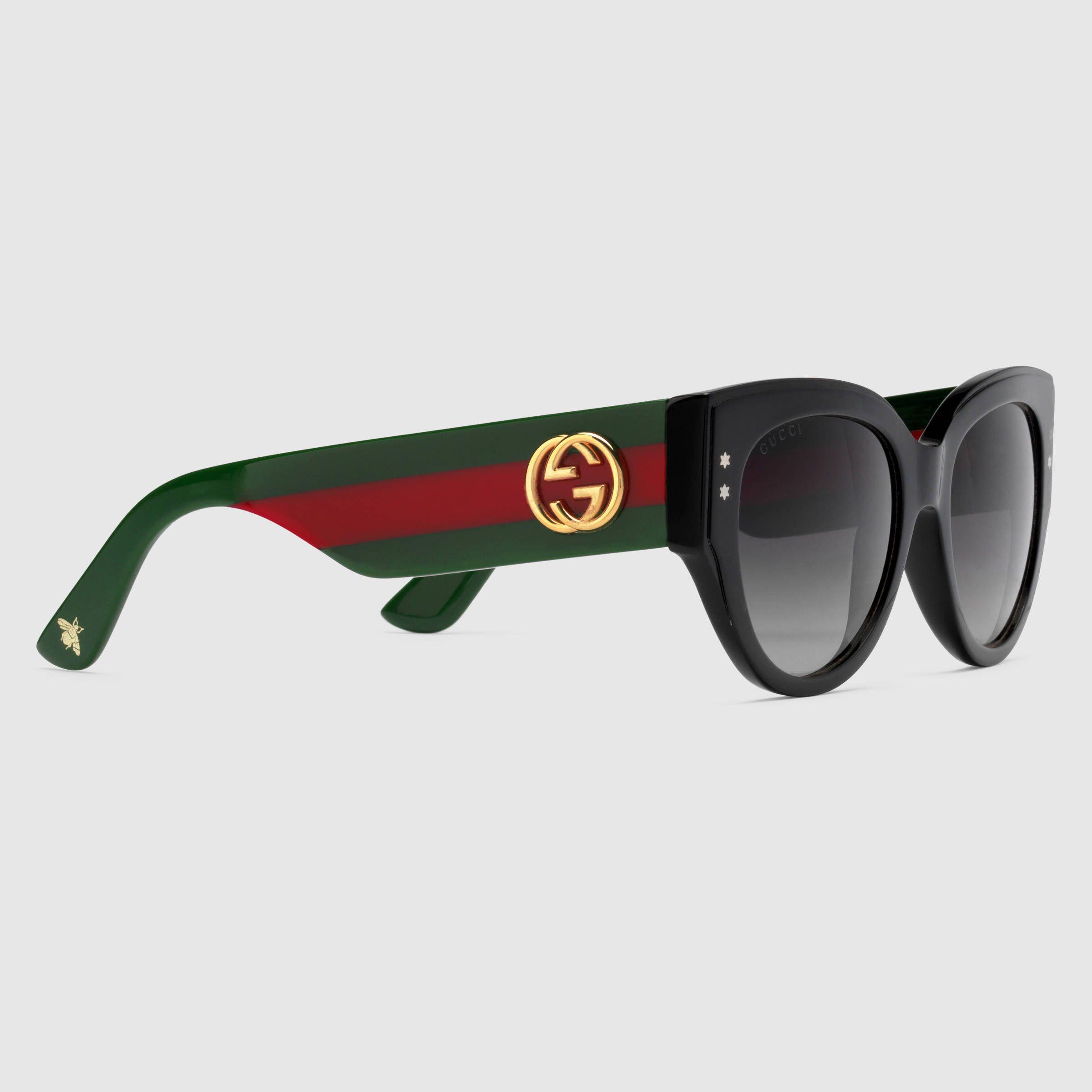 ad236655a778 Gucci | Cat eye acetate sunglasses | gucci sunglasses 5 in 2019 ...