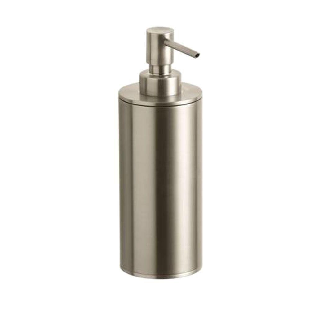 Kohler Purist Countertop Metal Soap Dispenser In Vibrant Brushed