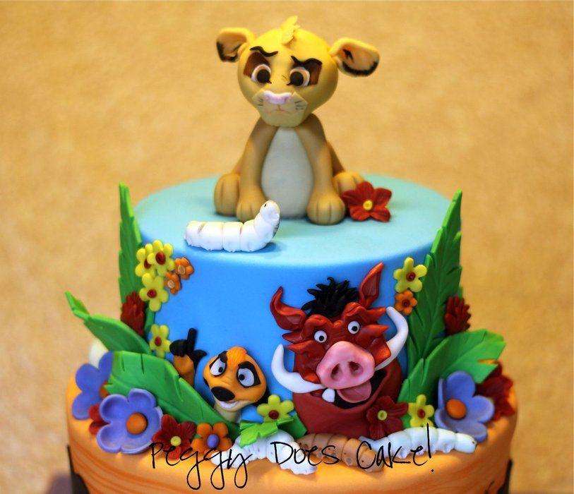 Lion King Cake Decoration Ideas : Lion King Cake By PeggyDoesCake CakesDecorcom Decorating ...
