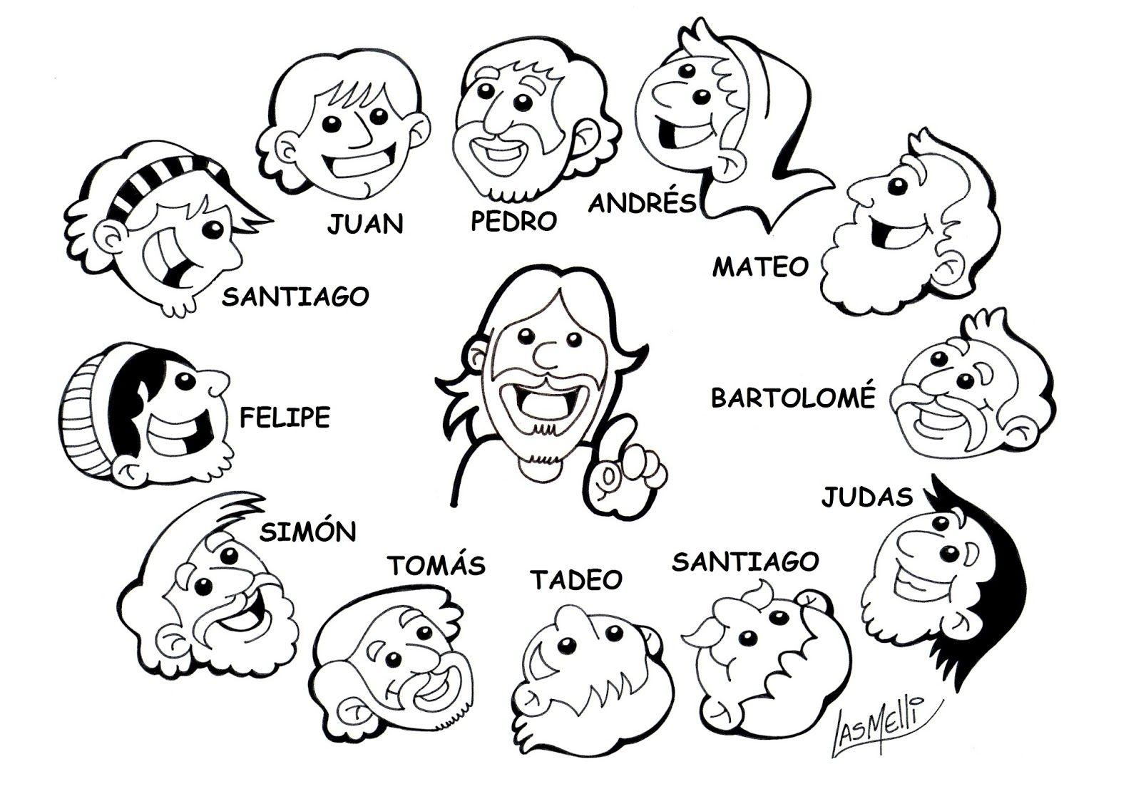 Los Doce Apostoles Para Los Mas Chiquitos En 2020 Con Imagenes