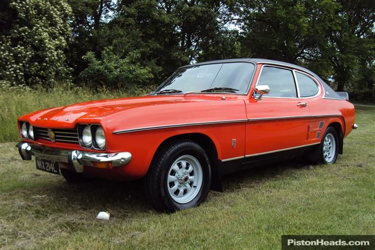 Ford Capri Mk1 3000gxl Facelift Manual A 1972 One Owner Car Ford Capri Facelift Used Ford