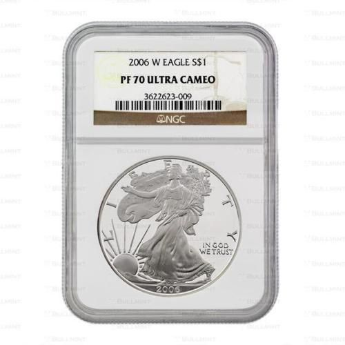 2012-S 1oz Proof Silver American Eagle PF69 NGC Mint
