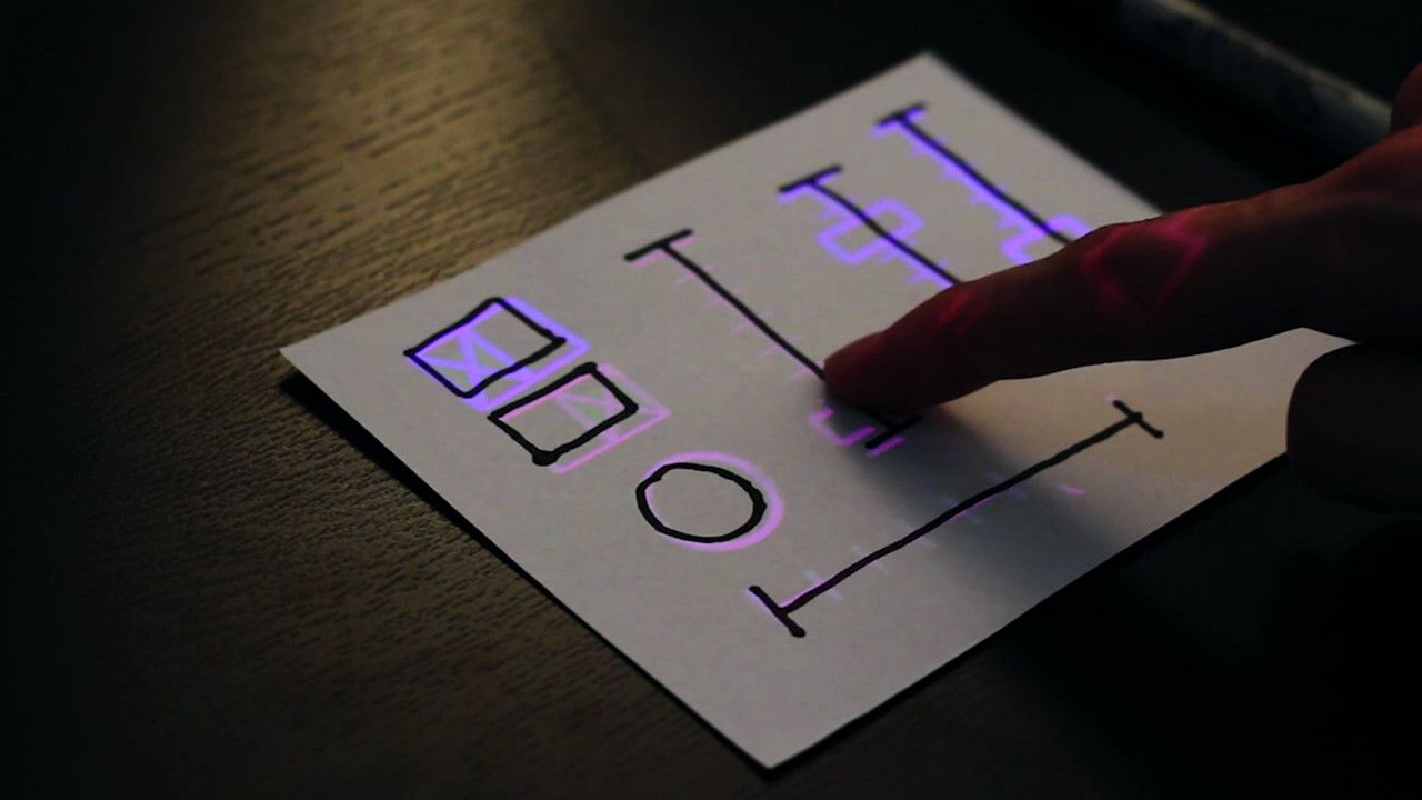 This Gizmo Lets You Draw A UI On Paper, Then Turns It Into A Touch Screen