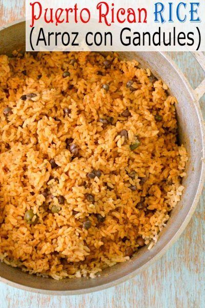 Puerto Rican Rice recipe  Arroz con Gandules (Rice with Pigeon Peas). How to ma #sofritorecipe