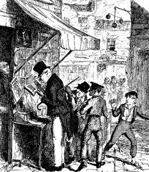 Child Pickpockets (natty lads) of the 18th and 19th centuries, Source: 2Romance blog, Geri Walton