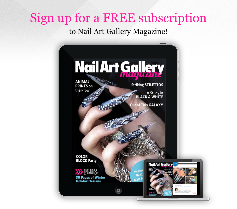 ☠☠ Nail Art Gallery Magazine - Free Subscription - NAILS Magazine ...