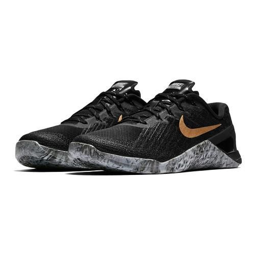633e9b5250d02 Women s Nike MetCon 3 AMP - Black Gold - Box Basics