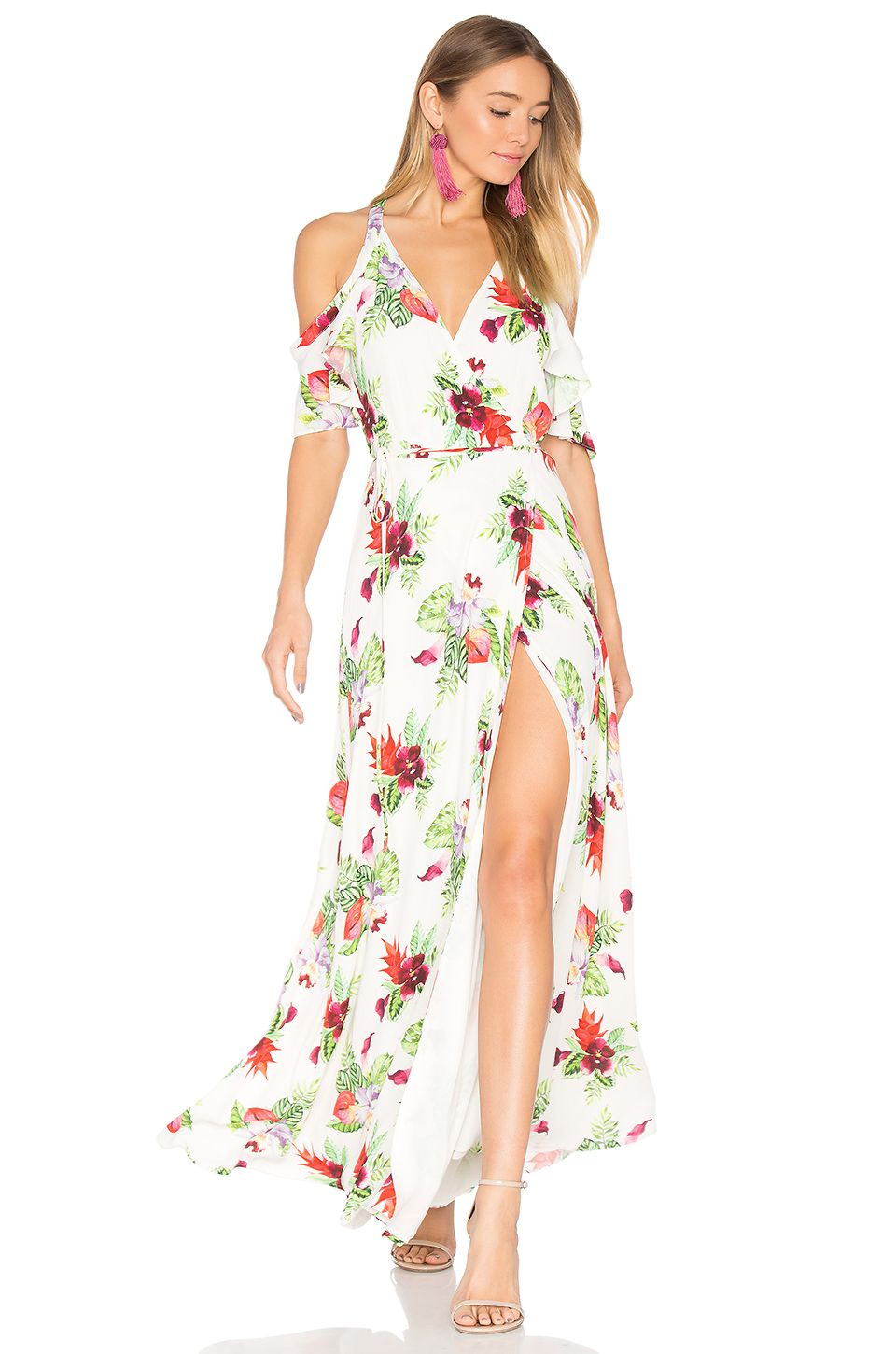 Privacy Please X Revolve Acme Dress In White Floral Revolve Dresses Women S Fashion Dresses Cutout Shoulder Dress Colorful floral dresses with more styles come in high quality and available prices! pinterest