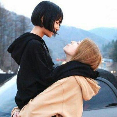 Busty Asian Teen Lesbian